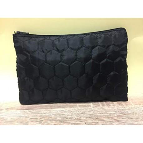 Trousse matelassée noire 30 x 22 cm