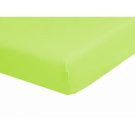 Drap Housse Bonnets De 28 cm 180 x 200 100% Coton 57 Fils/cm² confectionné en France