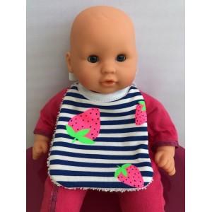 Bavoir pour poupée de 30 à 45 cm