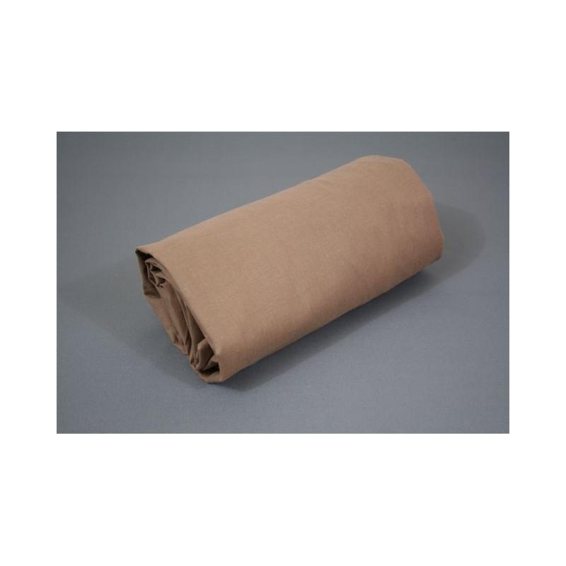 Drap housse uni coton for Drap housse 70x190