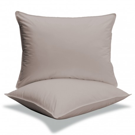 Taie sac couleurs 65 x 65 en 100 % coton Percale 80 fils / cm²